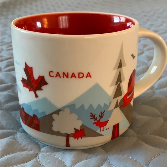 Starbucks Canada You Are Here Collection 2014 Mug